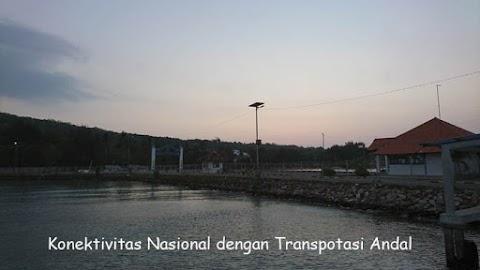 Konektivitas Nasional dengan Transpotasi Andal