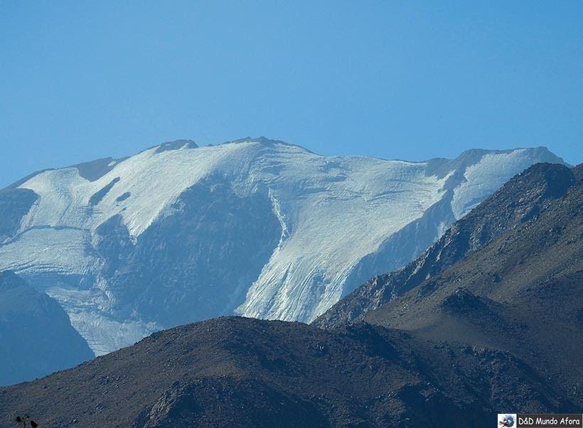 Neve no pico do Valle Nevado no verão. Vale à pena?