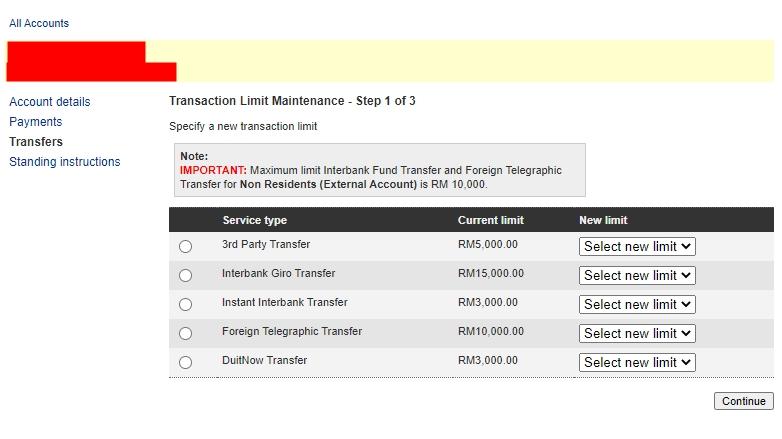 Cara Tukar Limit Transfer Maybank2u Secara Online