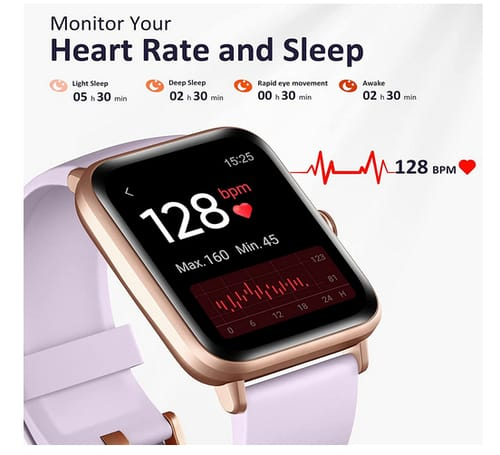 Hamile GT01 Fitness Heart Rate Monitor Smart Watch