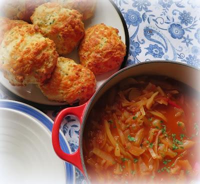 Cabbage & Tomato Soup