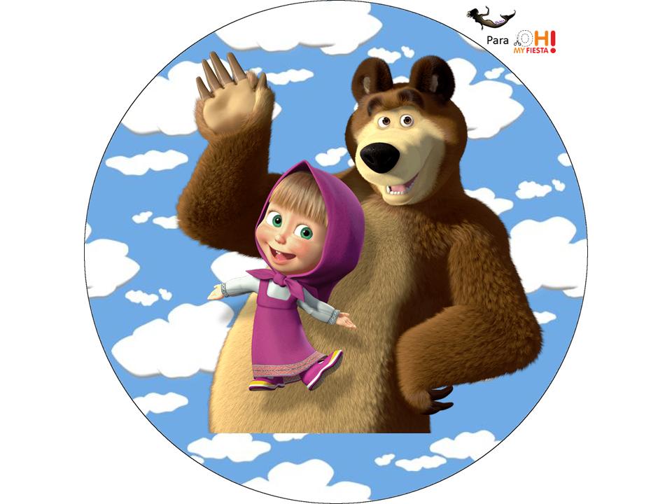 Скачать Иконку Маша И Медведь danniefivestar