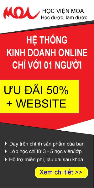 khóa học bán hàng online chỉ với 1 người