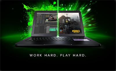 Razer Blade - Ultrabook Gamer Prosesor Intel Haswell