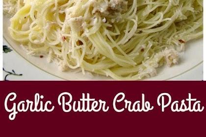 Garlic #Butter #Crab #Pasta