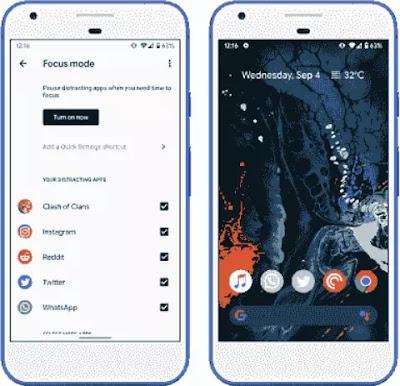 Cara menggunakan Mode Focus atas Android 10-2