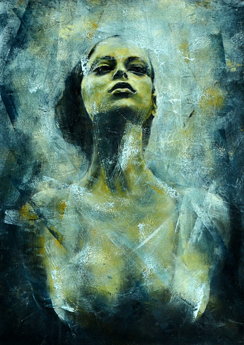 Portrait Paintings by Nena Stojanovic.