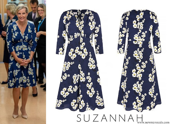Countess Sophie wore Suzannah Marigold Tea dress