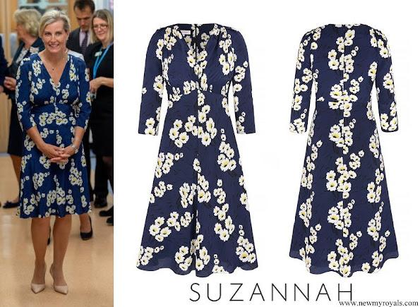 Countess Sophie wore Suzannah Marigold Tea dress