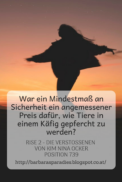 Buchrezension #217 Rise 2 - Die Verstoßenen von Kim Nina Ocker