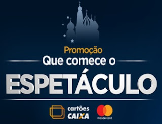 Cadastrar Promoção Que Comece O Espetáculo Cartões Caixa Mastercard
