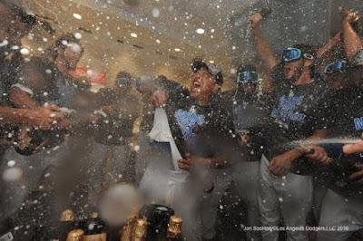 Blog Kiosk: 9/26/2016 – Dodgers Links – Division Champions!