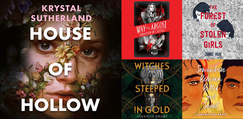 UK YA Audiobook Releases April 2021