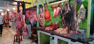 Ditreskrimsus Polda Jambi Sidak Harga Daging di Pasar Angso Duo