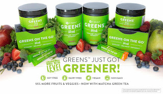 IT WORKS GREENS GREENS ON THE GO REVIEWS PIC