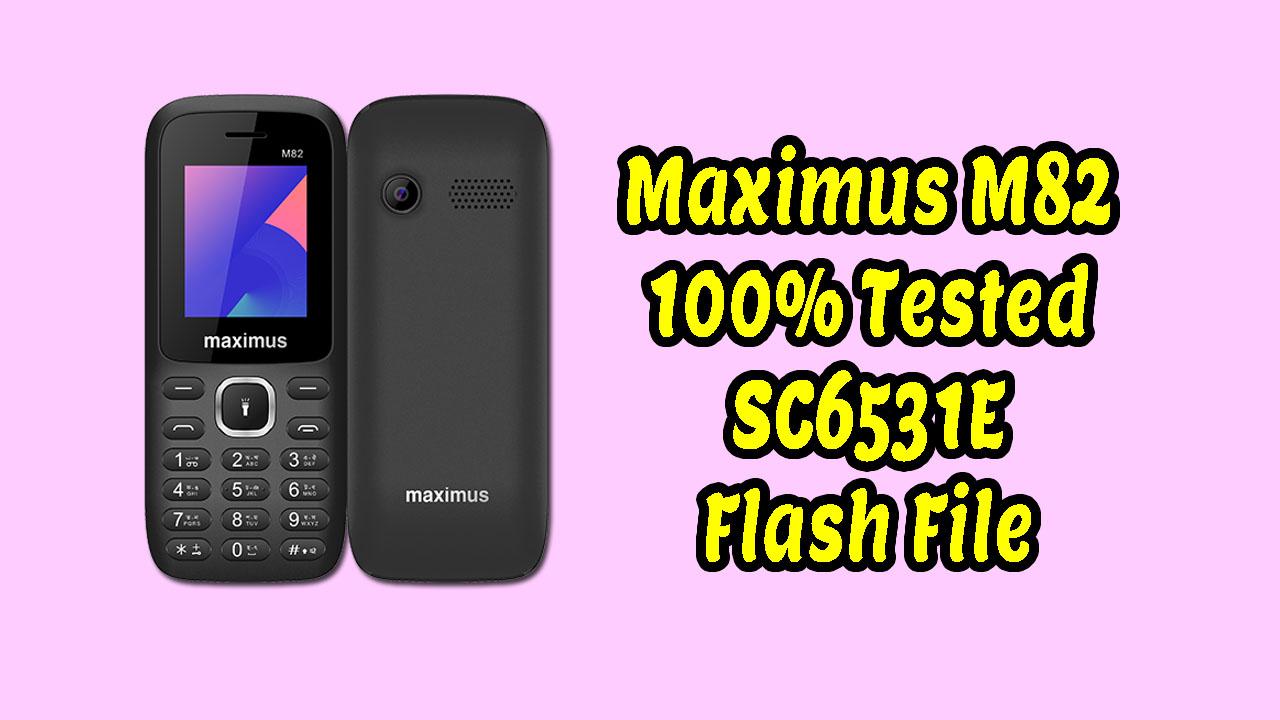 maximus m82 firmware flash file