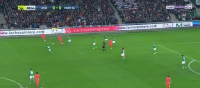 اهداف مباراة باريس سان جيرمان وسانت ايتيان