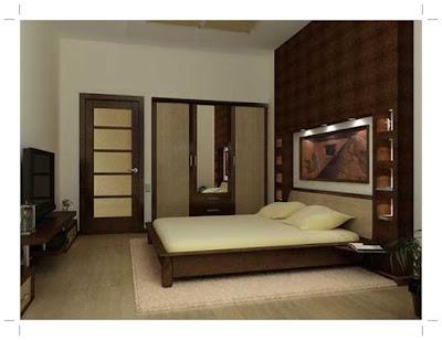 desain kamar tidur utama rumah minimalis