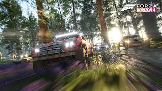 Forza Horizon 4 PS4 Wallpaper