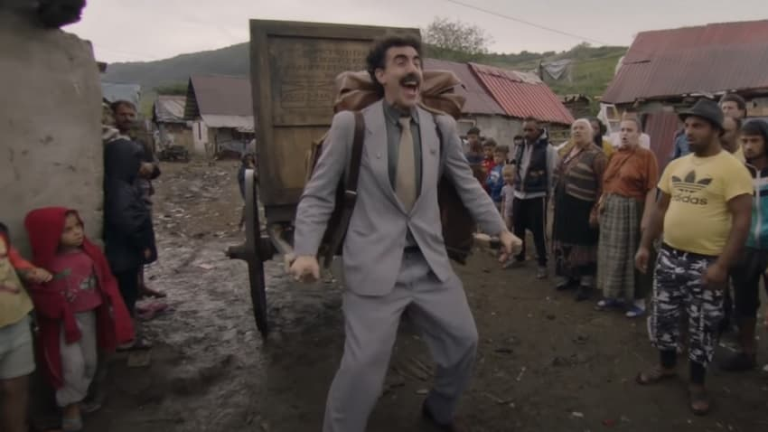 Amazon показал полный трейлер комедии «Борат 2» - главный журналист Казахстана вернётся 23 октября