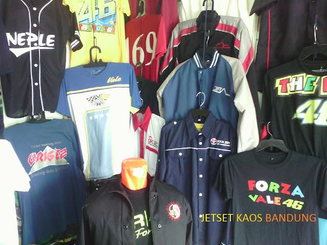 Tempat Pusat Konveksi Pabrik Kaos Baju Jaket Sablonan Murah Bandung
