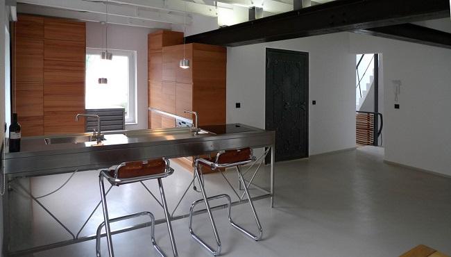 Estilo rustico loft rustico y moderno en hamburgo for Loft rustico