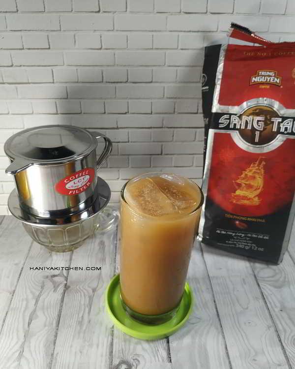 Resep Kopi Vietnam Vietnamese Iced Coffee (Cafe Sua Da)
