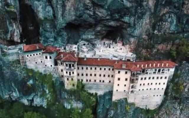 Κρατούν και φέτος κλειστή τη Μονή Σουμελά οι Τούρκοι