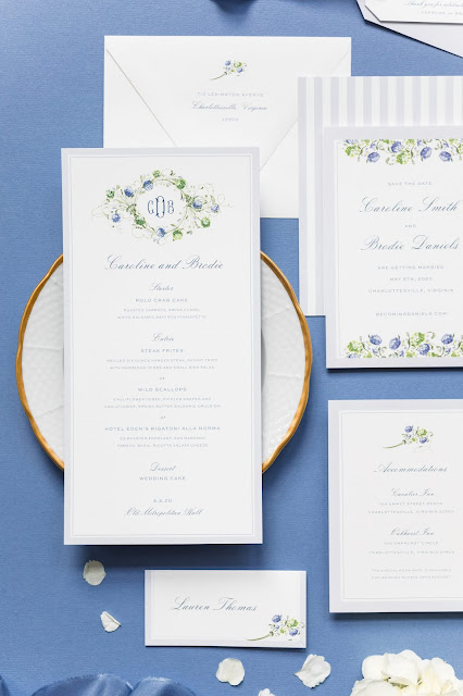 Wedding Wednesday: Invitation Etiquette with Dixie Design