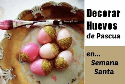 Como Decorar Huevos de Pascua