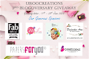 Join Us - Giveaway 3rd Blogoversary