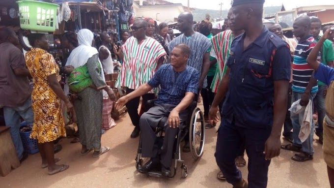 Look at my ability not the wheelchair – Greenstreet