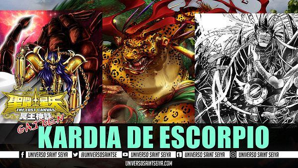 10x12: LOST CANVAS GAIDEN: KARDIA DE ESCORPIO