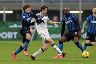 ملخص وهدف فوز انتر ميلان علي اتالانتا (1-0) الدوري الايطالي