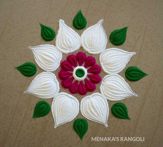 Easy And Simple Rangoli Designs To Celebrate Your Festivals