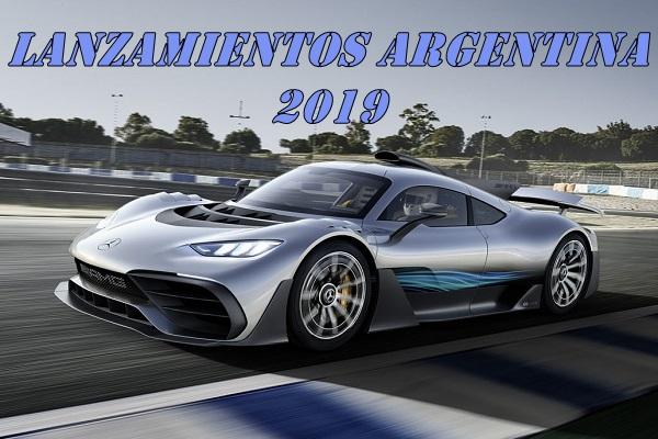 Lanzamientos de autos previstos para Argentina en 2019