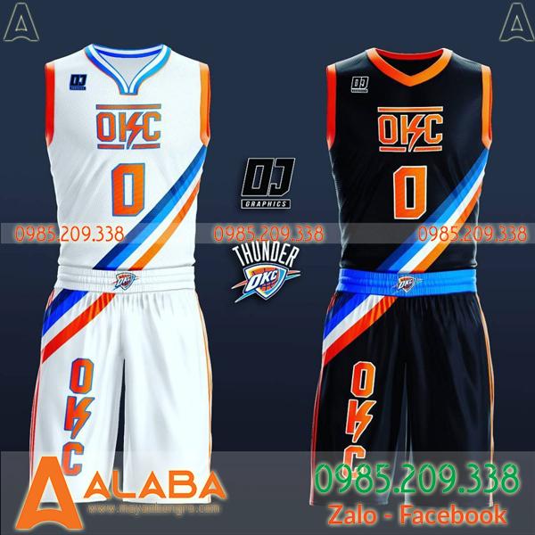 Bộ quần áo bóng rổ chính hãng