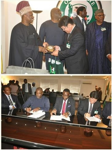 Ogun State Government Signs Agreement to Build Refinery (Photos)