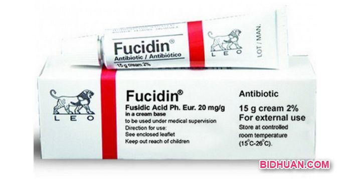 Salep bisul bernanah, Fucidad Acid