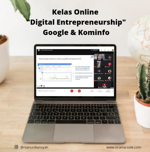 Ngajar digital entrepreneurship