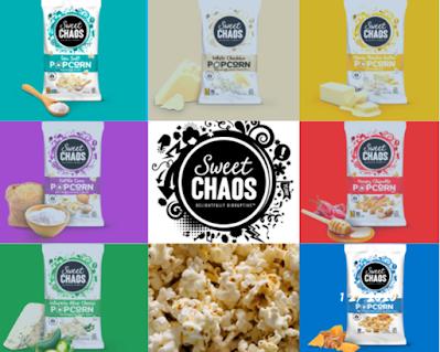 Sweet Chaos Popcorn prize bundle