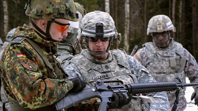 EEUU presiona a Alemania para que envíe tropas a Siria