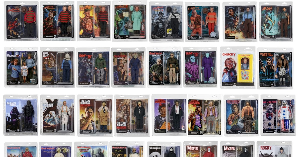 Images: NECA Mego Style 2017 Visual Guides
