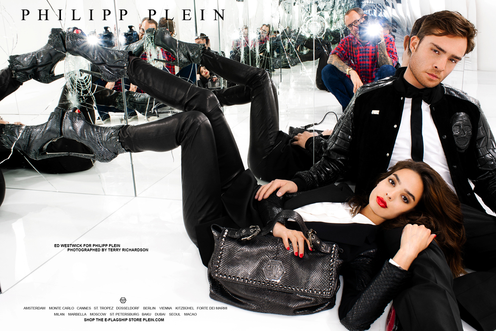 fa52d5df25 Philipp Plein Fall Winter 2012/13 Ad Campaign Ed Westwick, Photographed by  Terry Richardson