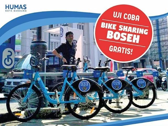 Inilah Daftar Shelter Sepeda Wisata Bike Sharing Boseh di Kota Bandung