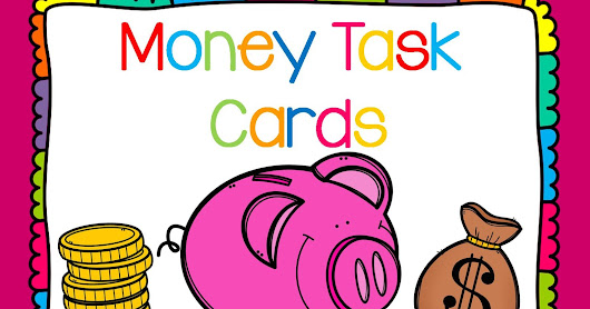 Second Grade Smartypants: Money Task Cards