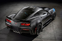Chevrolet Corvette Grand Sport Collector Edition (2017) Rear Side