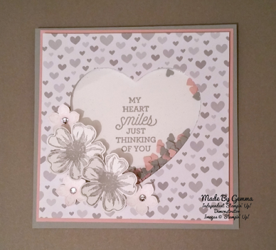 Stampin'Up! shaker card