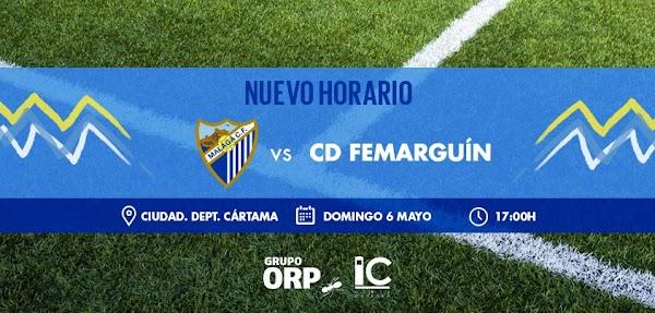 El Málaga Femenino - Femarguín ya tiene fecha y hora: 6 de mayo a las 17:00 h