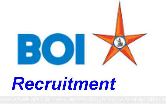 BOI Recruitment